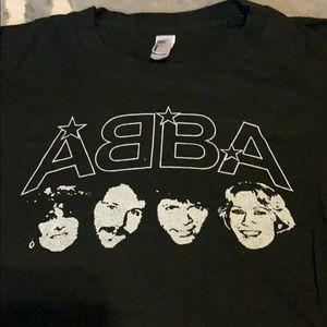 Abba black tshirt
